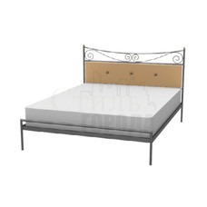 """Кованая кровать  двуспальная """"Мика"""""""