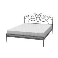 """Кованая кровать  двуспальная """"Итта"""""""