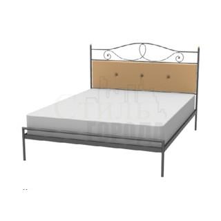 """Кованая Кровать двуспальная  """"Вика"""""""