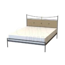 """Кованая кровать двуспальная   """"Сайка"""""""