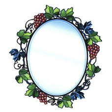 "Зеркало   кованое ""Маргаретто"""
